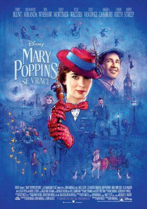 Náhled plakátu k filmu Mary Poppins se vrací