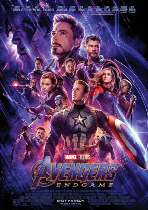 Náhled plakátu k filmu Avengers: Endgame