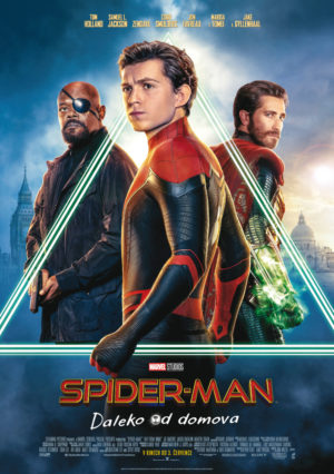 Náhled plakátu k filmu Spider-Man: Daleko od domova