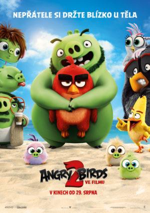 Náhled plakátu k filmu Angry Birds ve filmu 2