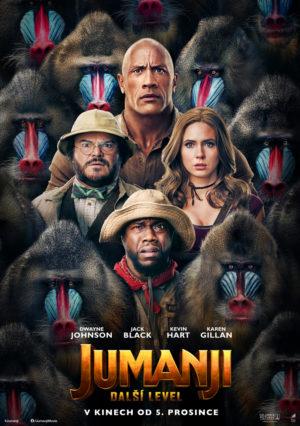 Náhled plakátu k filmu Jumanji: Další level