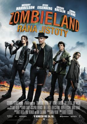 Náhled plakátu k filmu Zombieland: Rána jistoty