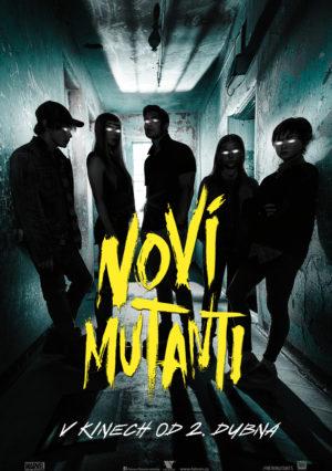 Náhled plakátu k filmu Noví mutanti