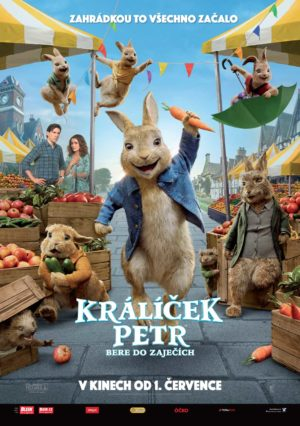 Náhled plakátu k filmu Králíček Petr bere do zaječích