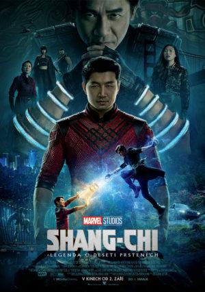 Náhled plakátu k filmu Shang-Chi a legenda o deseti prstenech