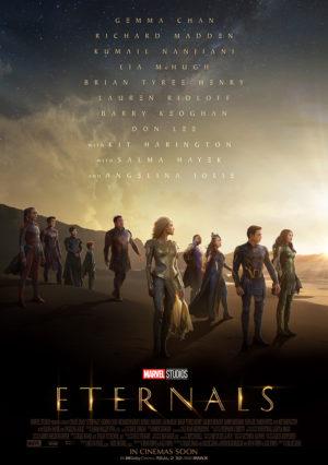 Náhled plakátu k filmu Eternals