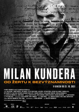 Náhled plakátu k filmu Milan Kundera: Od žertu k bezvýznamnosti
