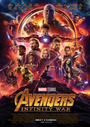 Náhled plakátu k filmu Avengers: Infinity War