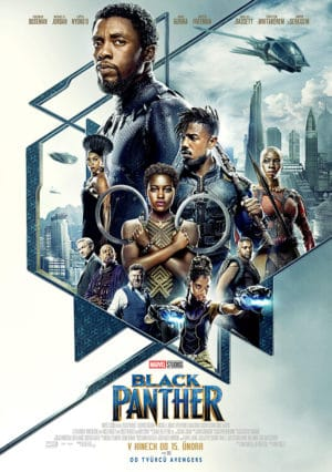 Náhled plakátu k filmu Black Panther