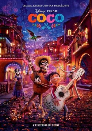 Náhled plakátu k filmu Coco