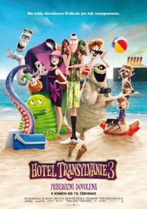 Náhled plakátu k filmu Hotel Transylvánie 3: Příšerózní dovolená