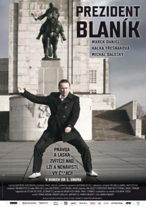 Náhled plakátu k filmu Prezident Blaník