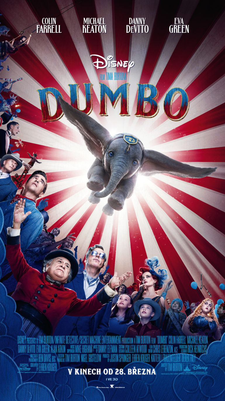 Dumbo 2019 plakát