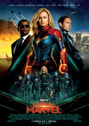 Náhled plakátu k filmu Captain Marvel