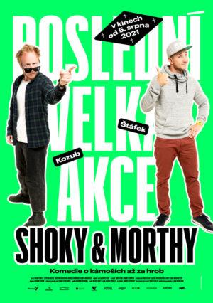 Náhled plakátu k filmu Shoky & Morthy: Poslední velká akce