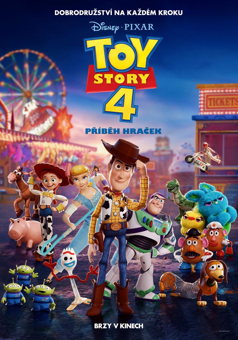 Toy Story 4: Příběh hraček plakát premiéra