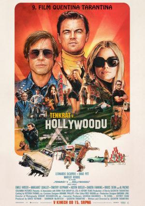Náhled plakátu k filmu Tenkrát v Hollywoodu
