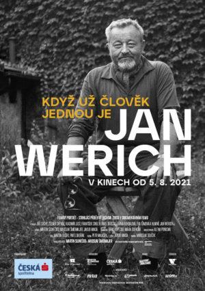 Náhled plakátu k filmu Jan Werich: <br>Když už člověk <br>jednou je